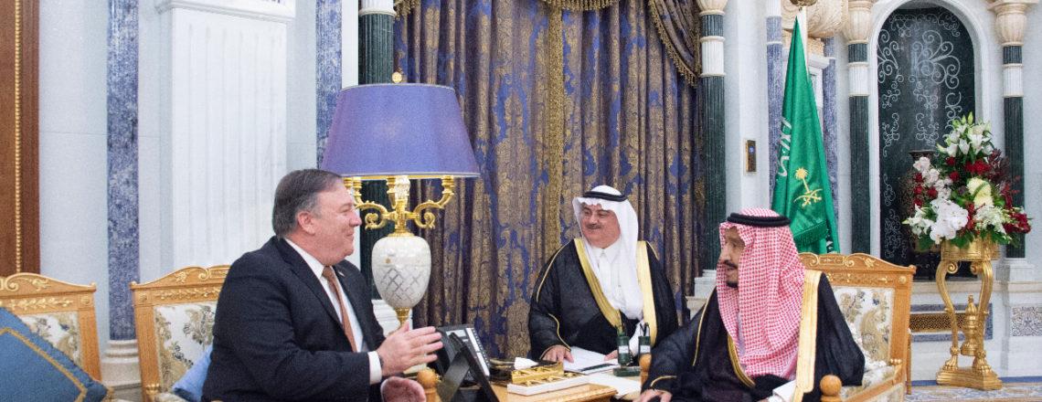 Secretary Pompeo's Meeting with Saudi King Salman